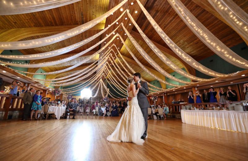 Wedding reception at Oglebay Resort and Conference Center.
