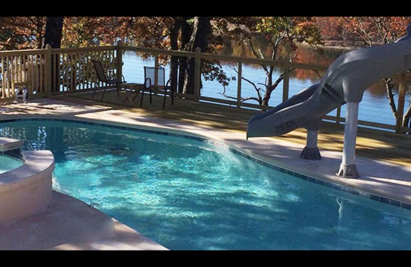 Outdoor pool at Artilla Cove Resort.