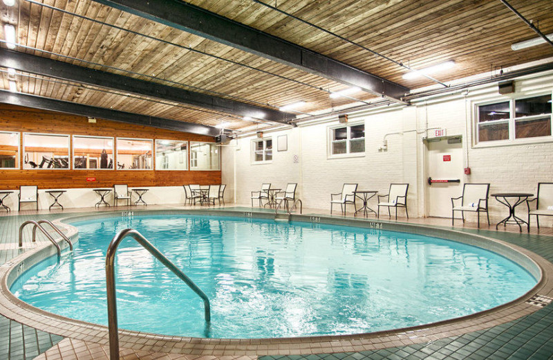 Indoor pool at Best Western Charlottetown.