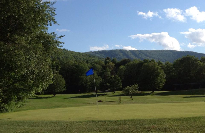 Golf course near at Hotel Vienna.