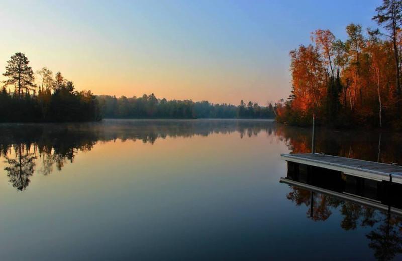 Lake view  at R & R Bayview Resort.