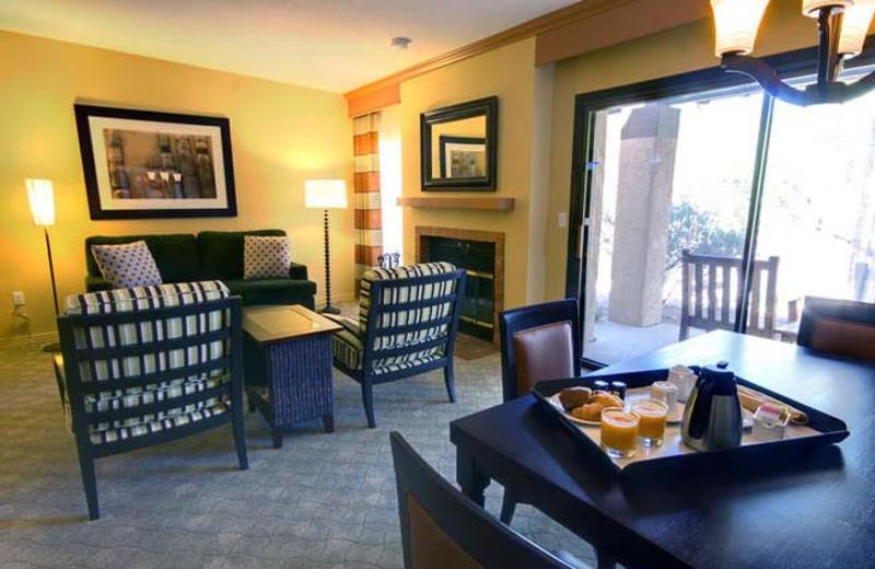 Casita suite at Hilton Tucson El Conquistador Golf & Tennis Resort.