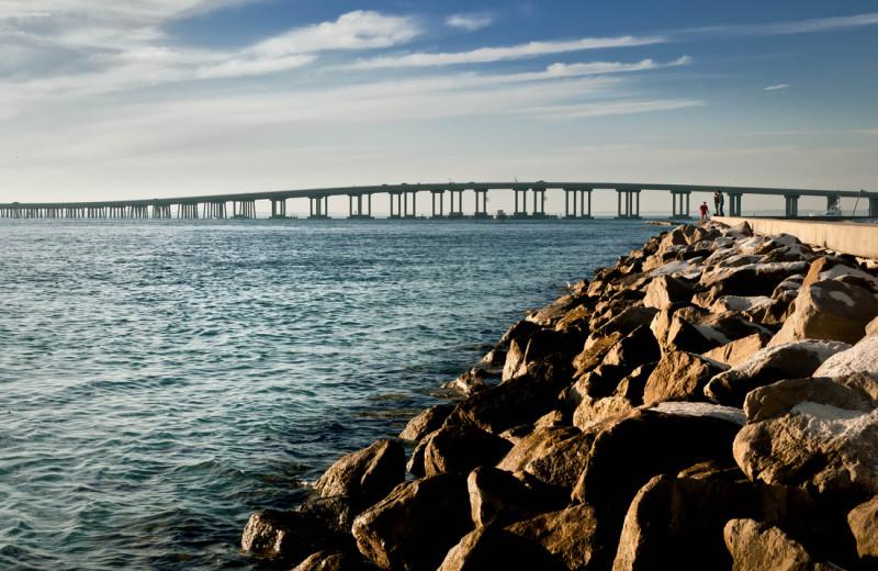 Bridge at The Islander in Destin.