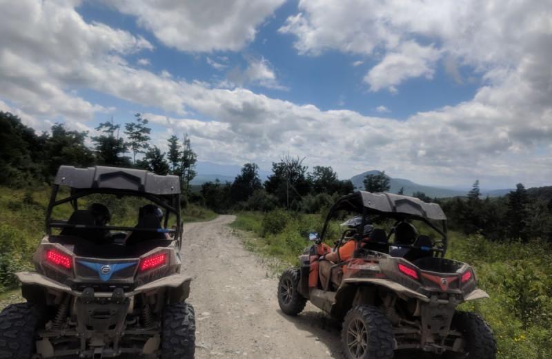 ATV at Northern Outdoors.