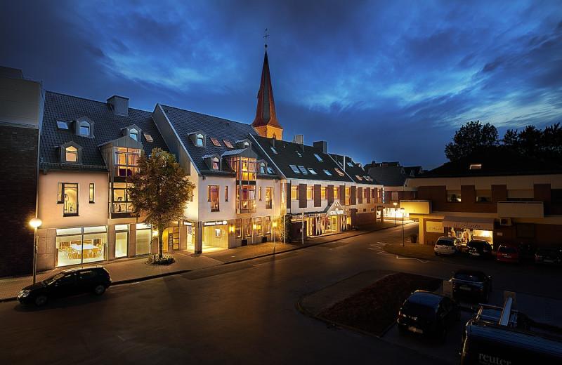 Exterior view of Hôtel Restaurant Reuter.
