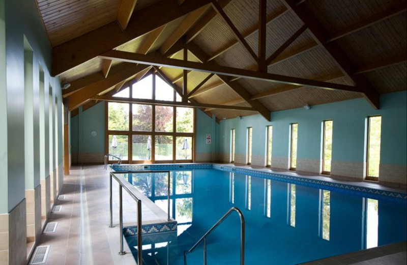 Indoor pool at Lake Country House.