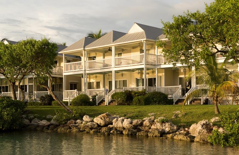 Exterior view of Hawks Cay Resort.