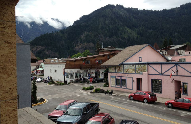 View from Obertal Inn.