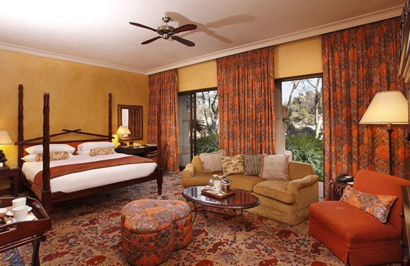 Guest room at The Palace.