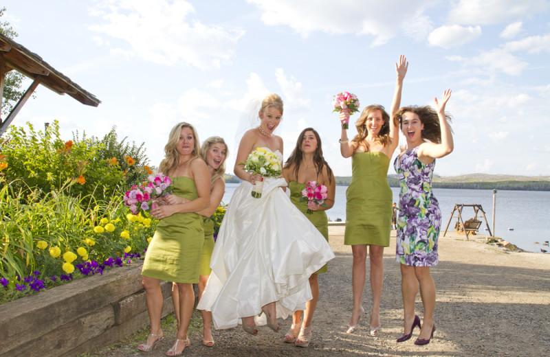 Weddings at Gunflint Lodge.