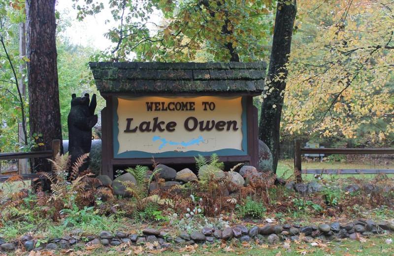 Welcome to Lake Owen Resort