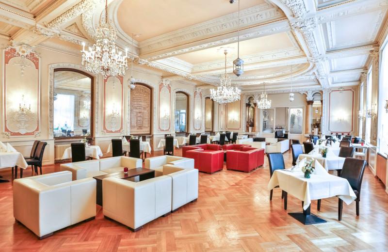 Lobby at Bad-Hotel Zum Hirsch.