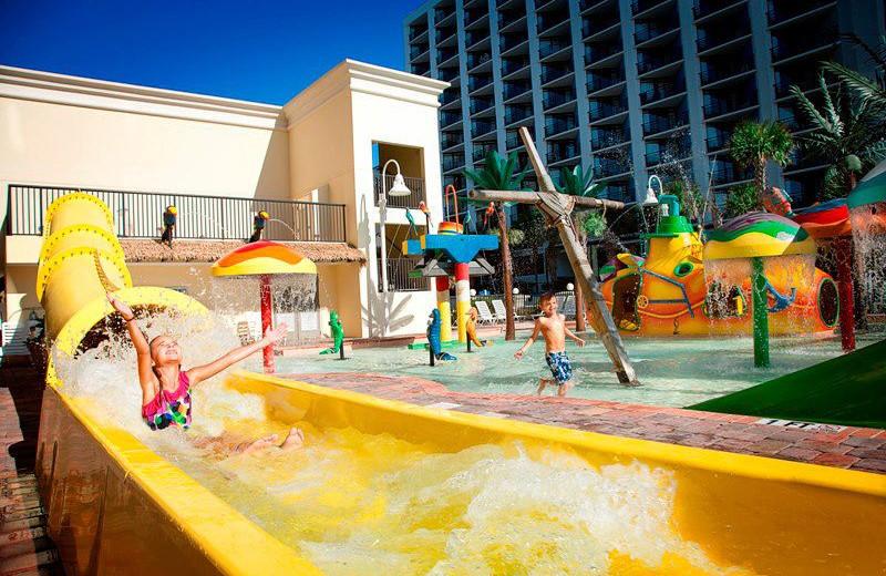 Outdoor Water Park at SeaCrest Oceanfront Resort