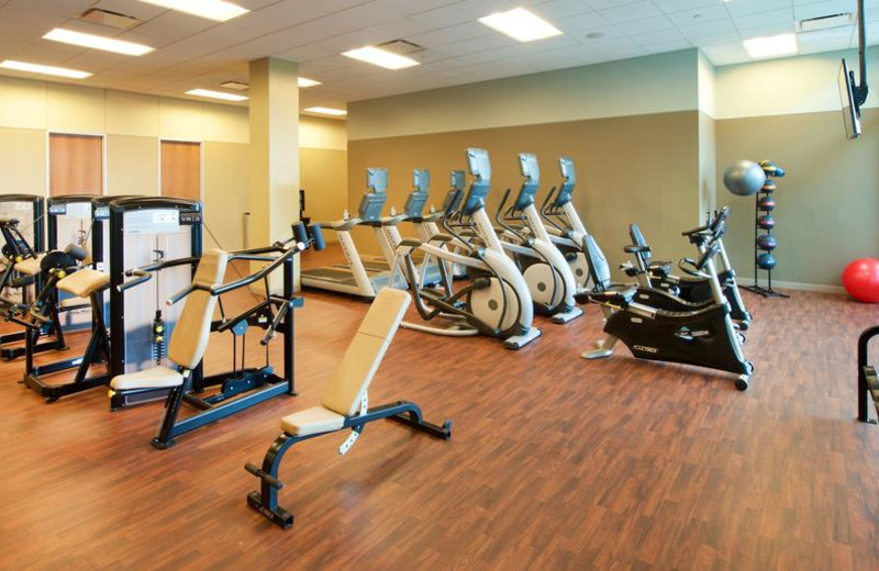 Fitness room at Lakeway Resort and Spa.