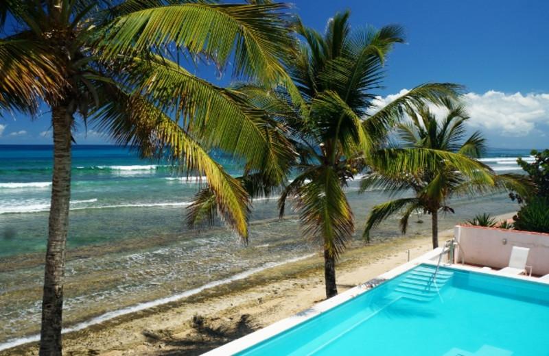 Outdoor pool at Bravo Beach Hotel.