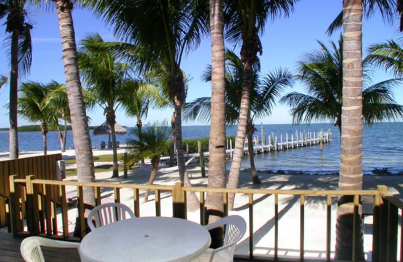 Porch view at Atlantic Bay Resort.