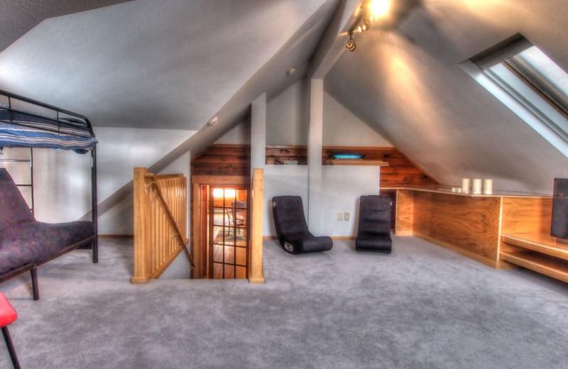 Vacation rental kid's room at SkyRun Vacation Rentals - Nederland, Colorado.