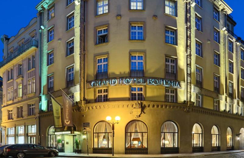 Exterior view of Grand Hotel Bohemia.