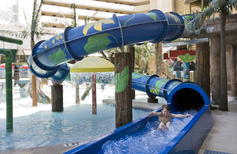 Water park at Ocean Reef Resort.