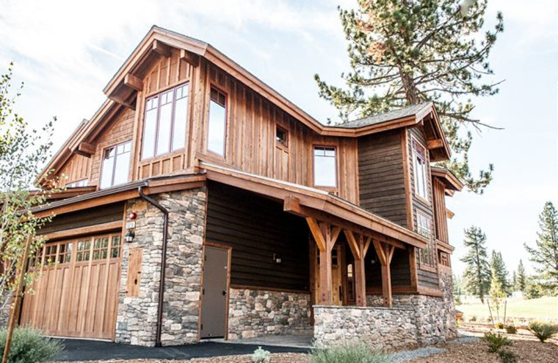 Exterior View of Rental at Tahoe Signature Properties