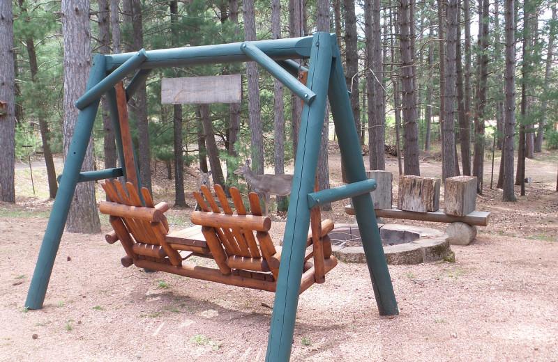 Swing at Nitschke's Northern Resort.