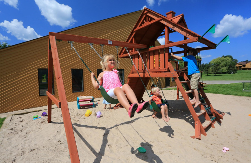 Playground at Trout Creek Vacation Condominiums.
