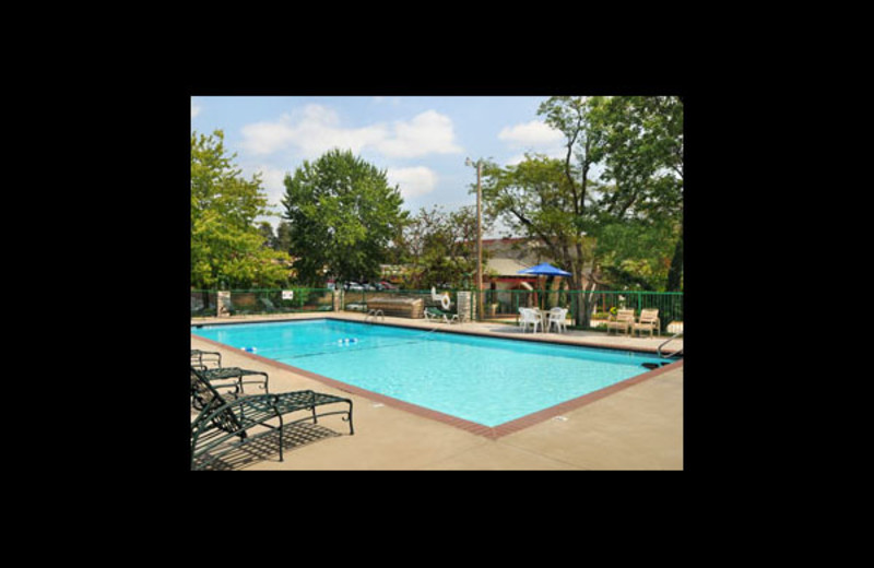 Outdoor pool at Ramada Resort and Conference Center.