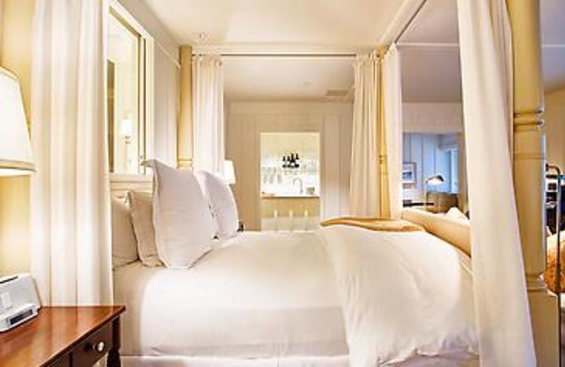 Interior suite room at Meadowood Napa Valley.