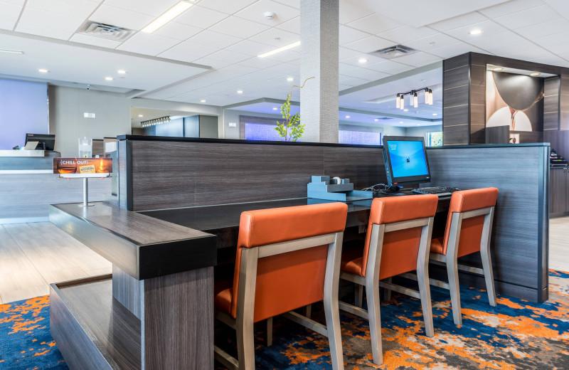 Business center at Fairfield Inn & Suites - Stevensville.