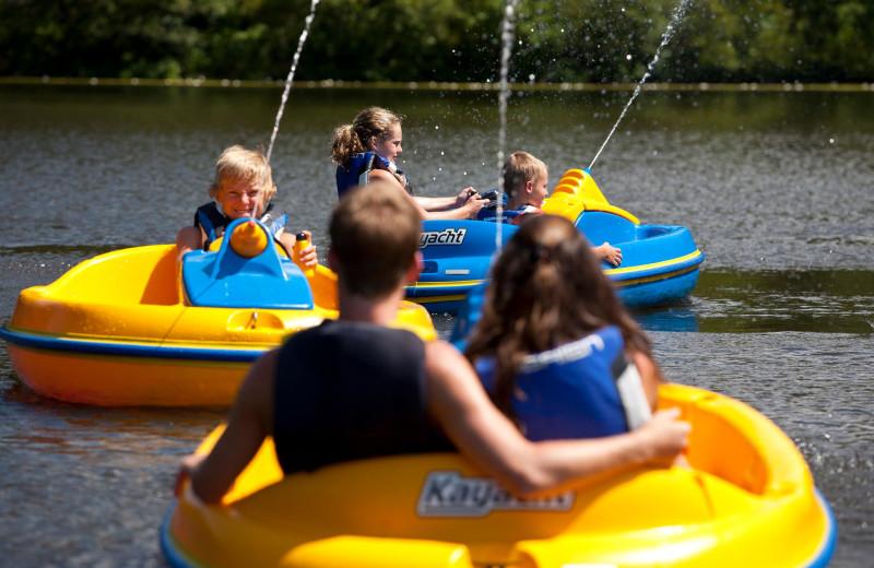 Water activities at Callaway Gardens.