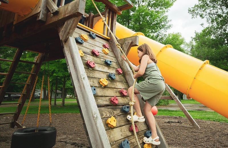 Playground at The Red Door Resort.