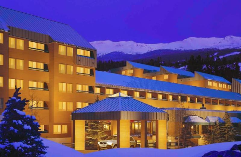 Resort exterior at Breckenridge Hospitality.