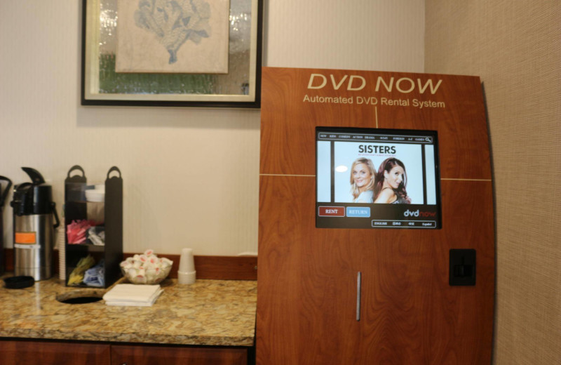 DVD rental at The Strand Resort Myrtle Beach.
