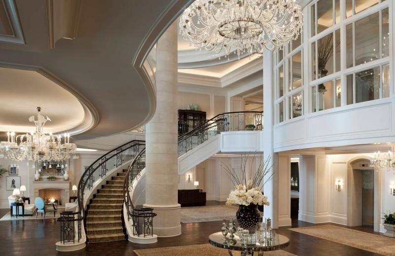 Lobby at The St. Regis Atlanta.