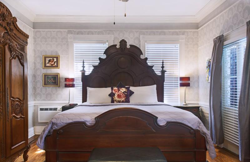 Guest room at Coco Plum Inn.