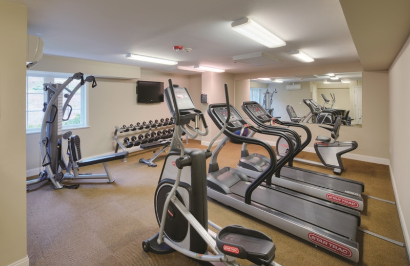 Fitness room at The Residences at Biltmore.