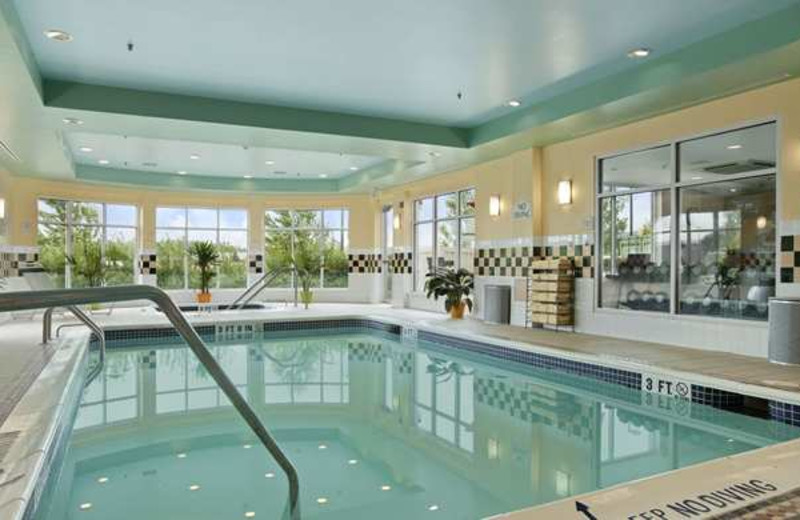 Indoor Pool at the Hilton Garden Inn Wilkes-Barre