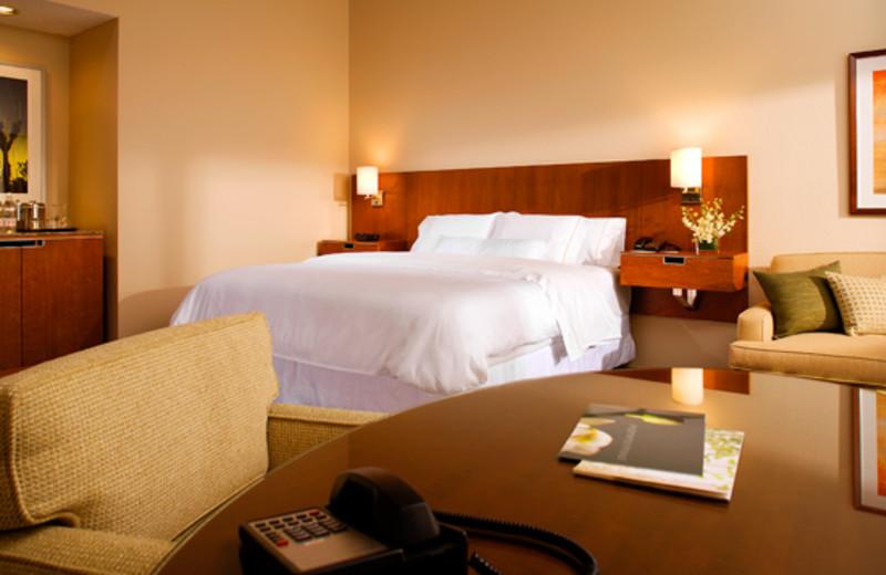 Standard King bedroom at The Westin Mission Hills Resort & Spa.