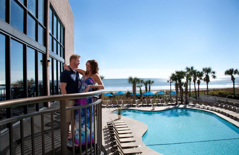 Couple at Long Bay Resort.