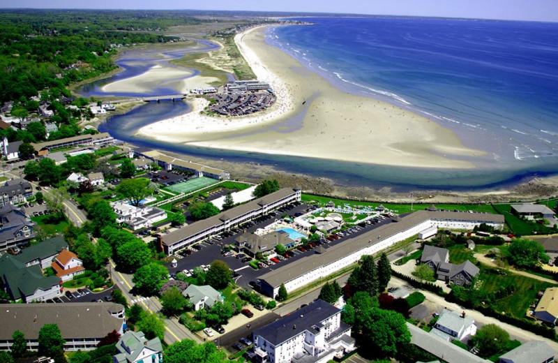 Aerial View of Wells-Ogunquit Resort Motel