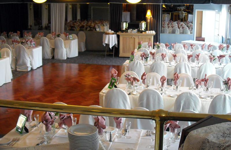 Wedding reception at La Tourelle Resort & Spa.