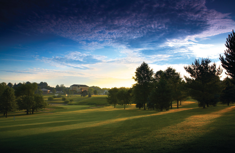 Golf view at Heritage Hills Golf Resort.