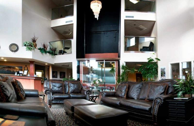 Lobby area at The Garibaldi House Inn.