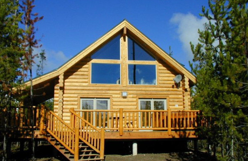 Cabin Exterior at The Pines