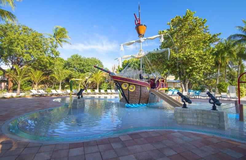Kid pool at Hawks Cay Resort.