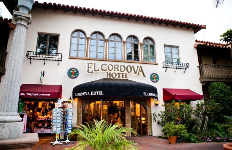 Exterior view of El Cordova Hotel.