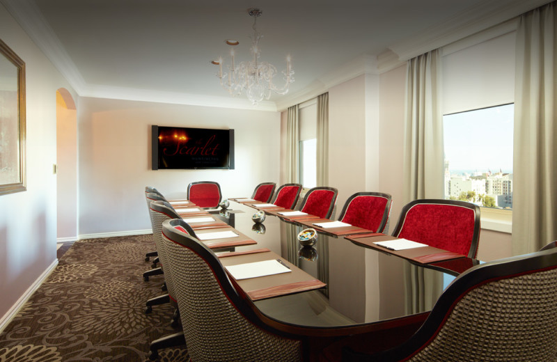 Meeting Room at The Scarlet Huntington