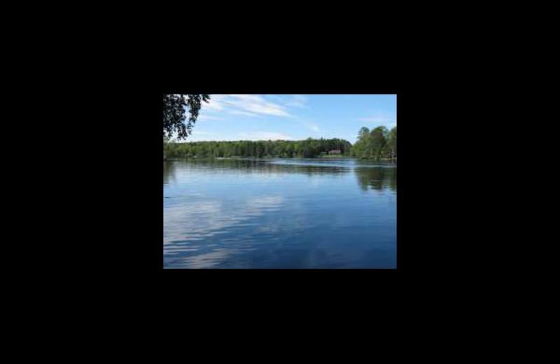 Lake view at Reese's Resort.