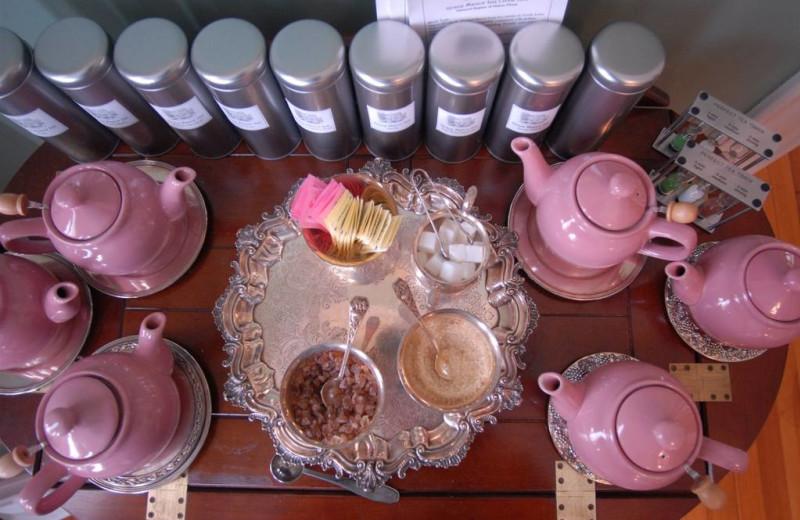Tea time at Grace Manor Inn.