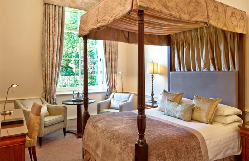 Guest room at Macdonald Bath Spa.